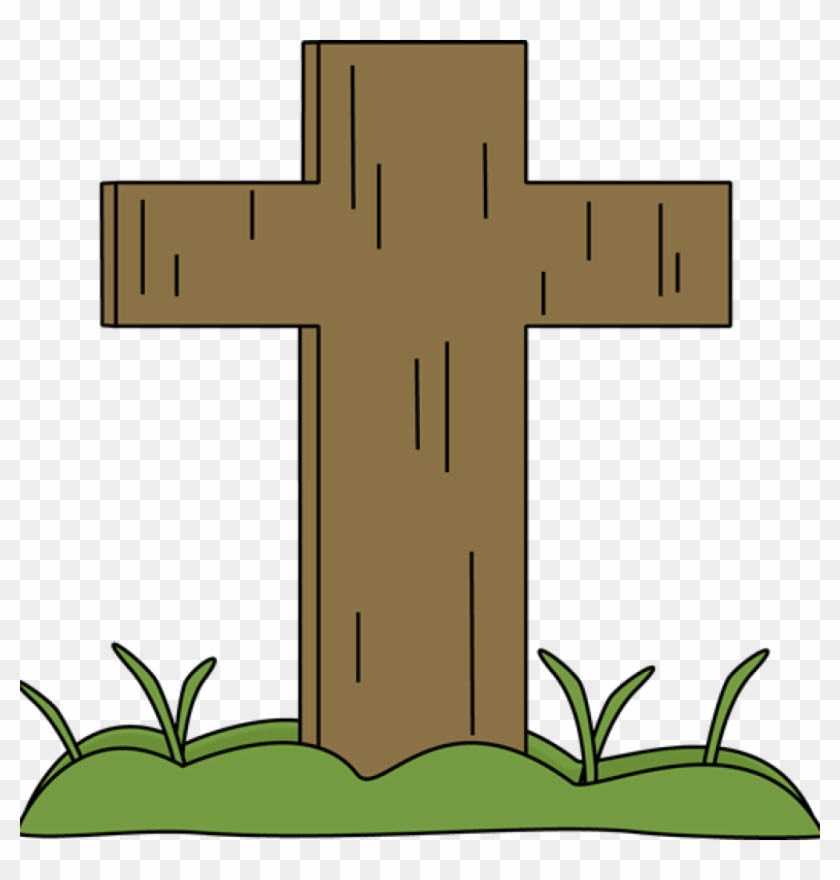 Easter Cross In The Grass - Easter Cross Clipart Png #25226