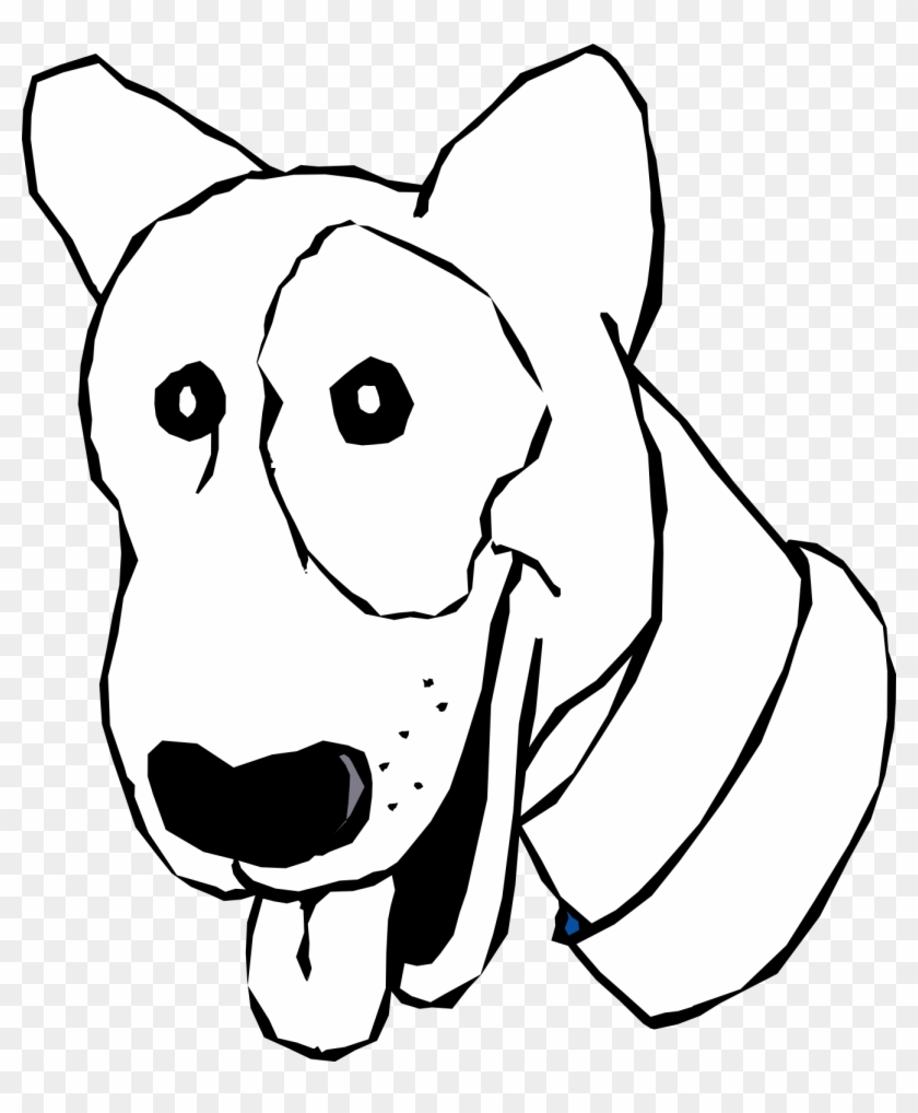 Images For Black And White Dog Cartoon - Transparent Dog Black And White Cartoon #25254