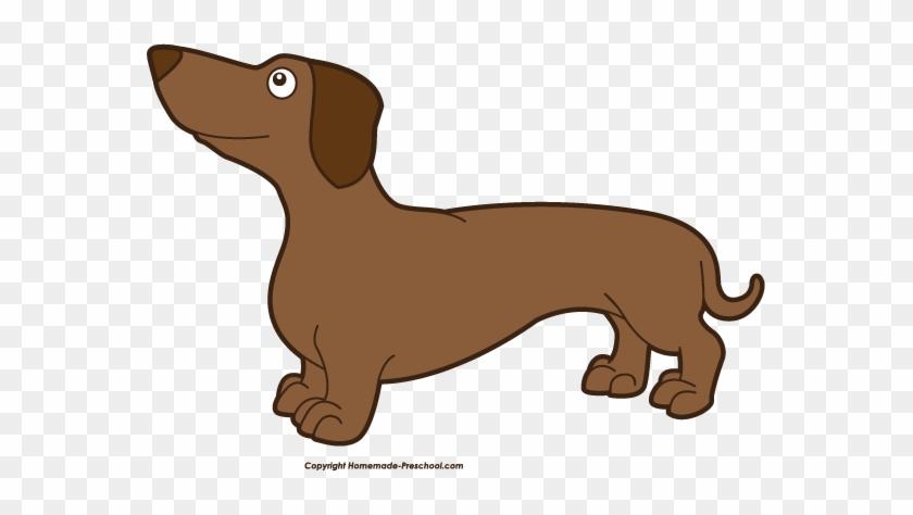 Free Wiener Dog Clipart Dachshund Download Clip Art - Weiner Dog Clipart Png #25278