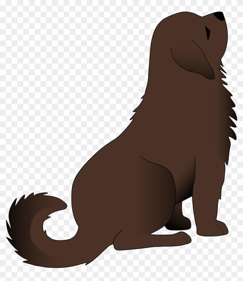 Big Dog Clip Art - Big Brown Dog Clipart #25311