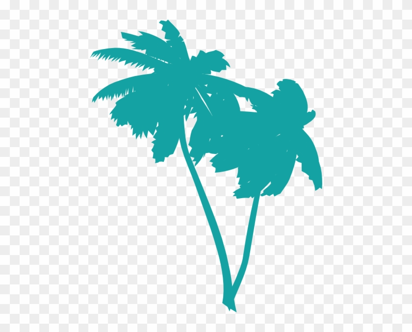 Vector Palm Trees Clip Art - Palm Tree Clip Art #25313