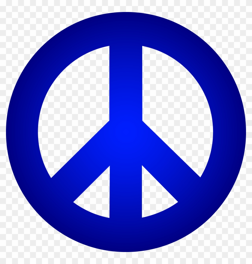 Peace Sign Clip Art Black And White Free Clipart - Peace Sign Clip Art Black And White Free Clipart #25351