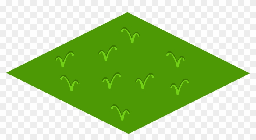 Grass - Isometric Floor Tile #25334