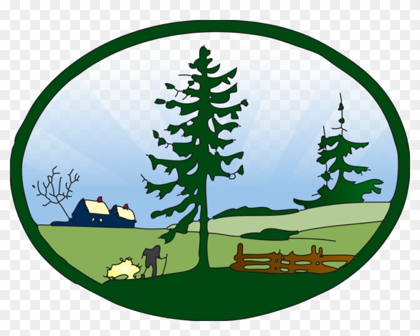 Country Grass Clipart - Free Clip Art Nature #25368