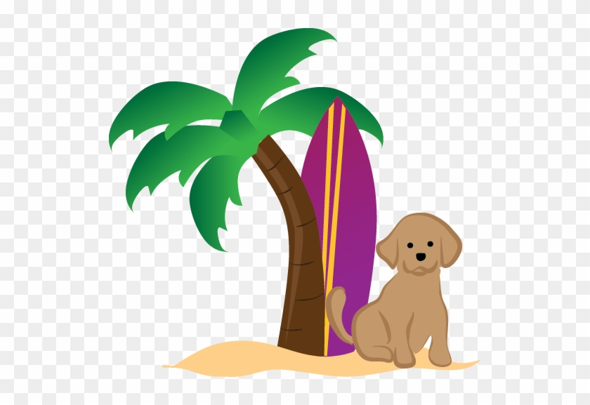 Only Dogs Are Allowed In Our Pet-friendly Properties - Palm Tree Clip Art #25396