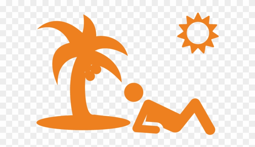 At The Beach - Vector Graphics #25403