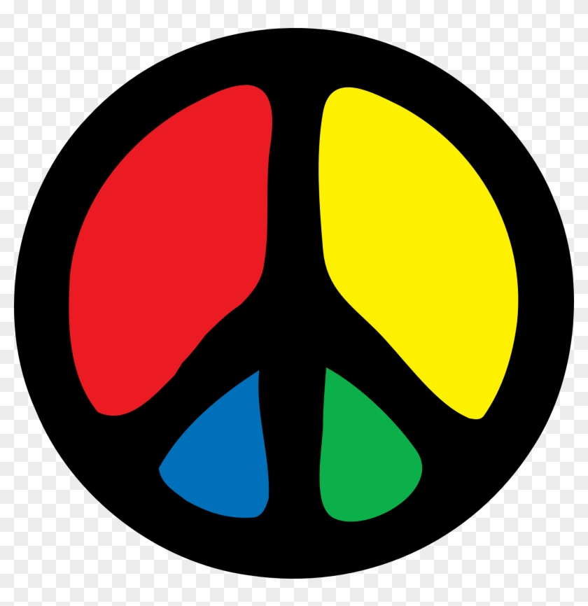 Hippie - Clipart - Peace Png #25407