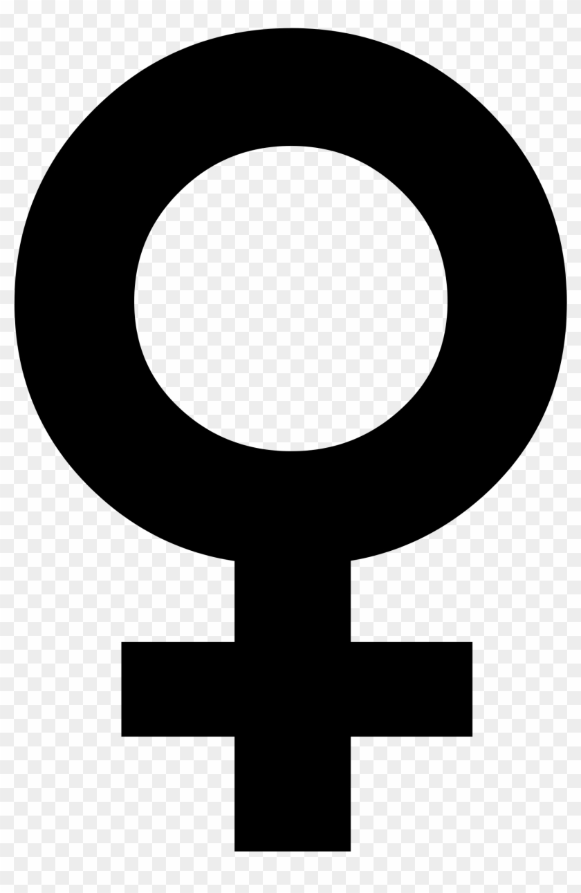 File - Female Symbol - Svg - Wikimedia Commons - Symbol For Women's Rights #25409