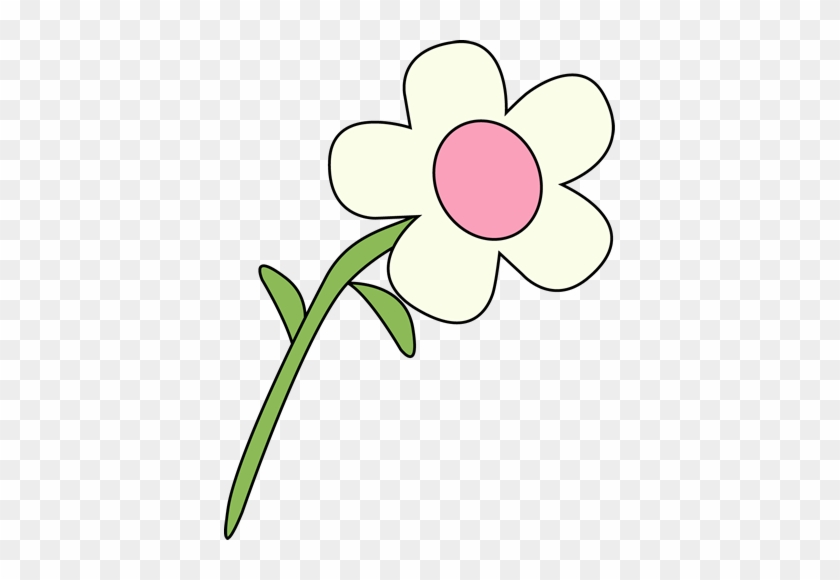 Single White Flower - Natural And Manmade Resources #25417