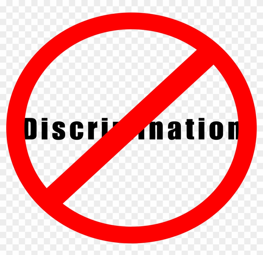 Download - Discrimination Sign #25428