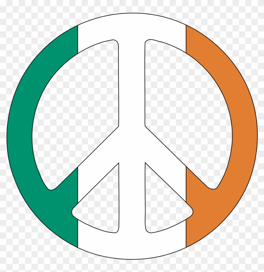 Free Peace Sign Clip Art Clipart To Use Resource - Peace Sign Ireland #25455
