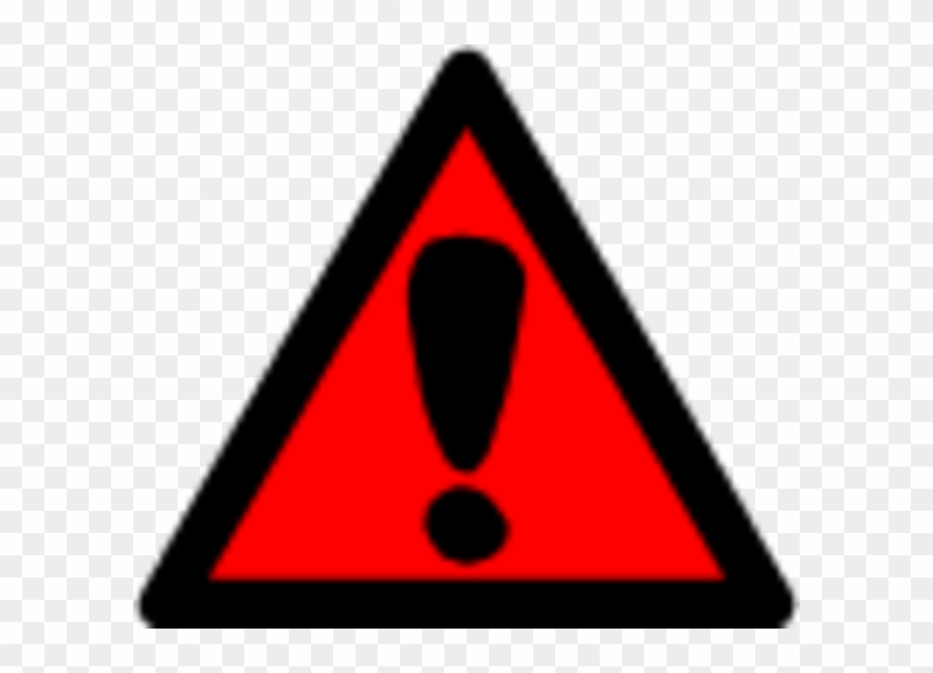 Attention Clip Art The Cliparts - Clip Art Hazard Sign #25473