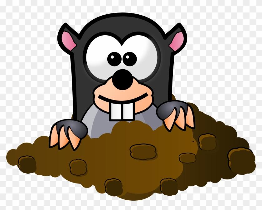Big Image - Mole Cartoon #25483