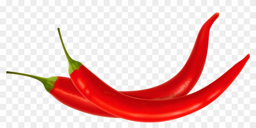 Red Chili Peppers Png Clipart - Chili Vector Png #25487