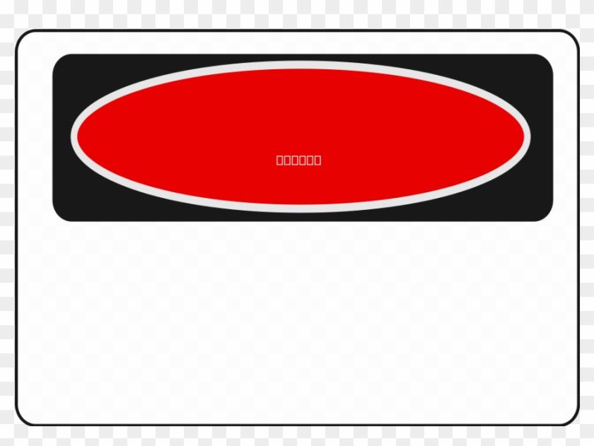 Warning Sign Hazard Clip Art - Blank Danger Sign Template #25500