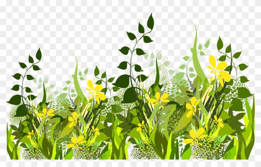 Grass Decoration Clipart Image - Clip Art #25513