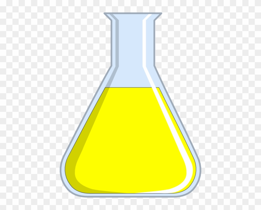 Chemistry Flash Yellow Clip Art At Clker - Yellow Chemistry #25496