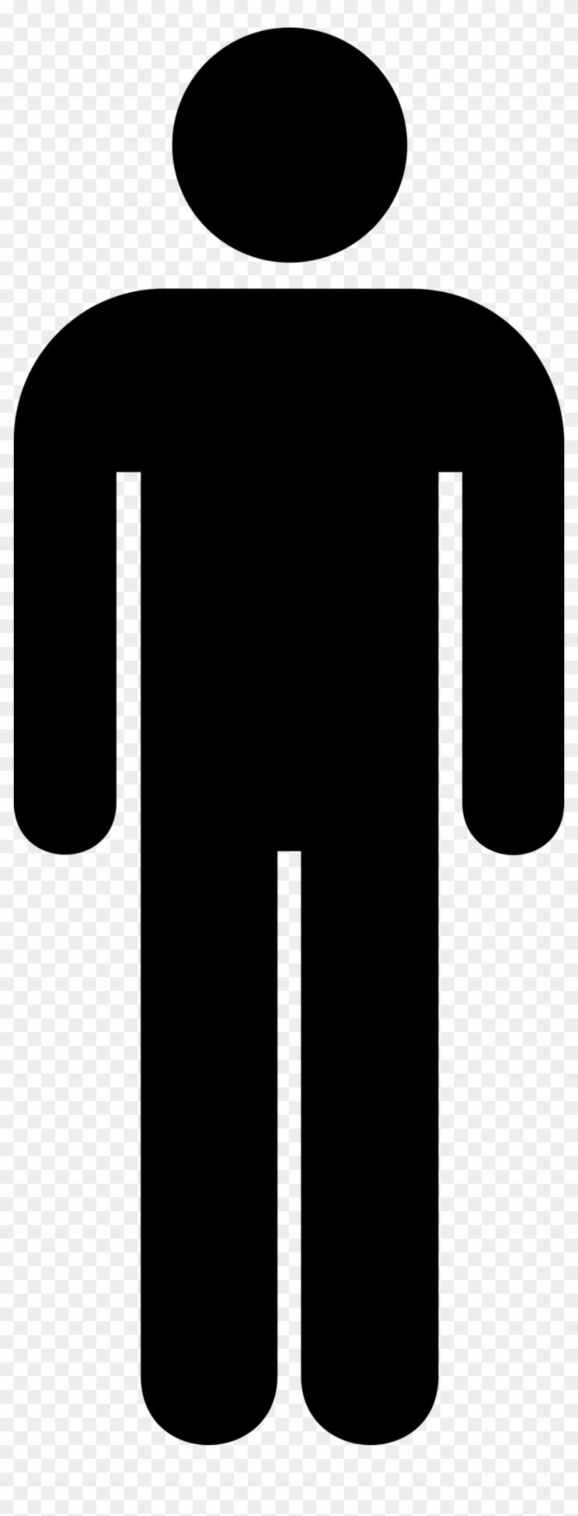 Ladies Bathroom Sign - Person Clipart Transparent Background #25528