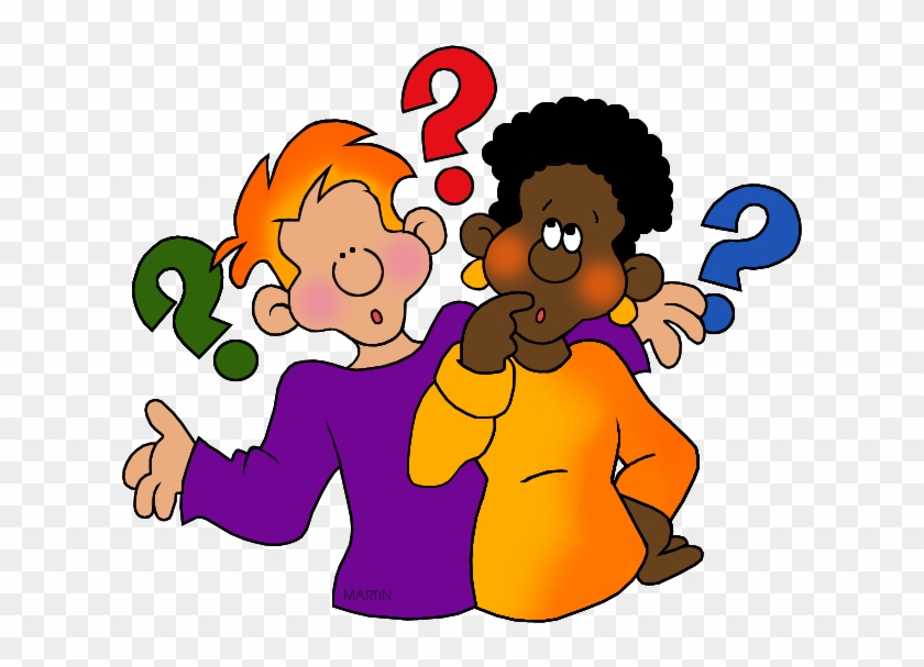 Questioning - Phillip Martin Clipart Question #25529