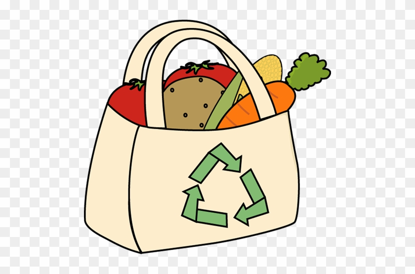Grocery Clipart - Shopping Bags Clip Art #25560