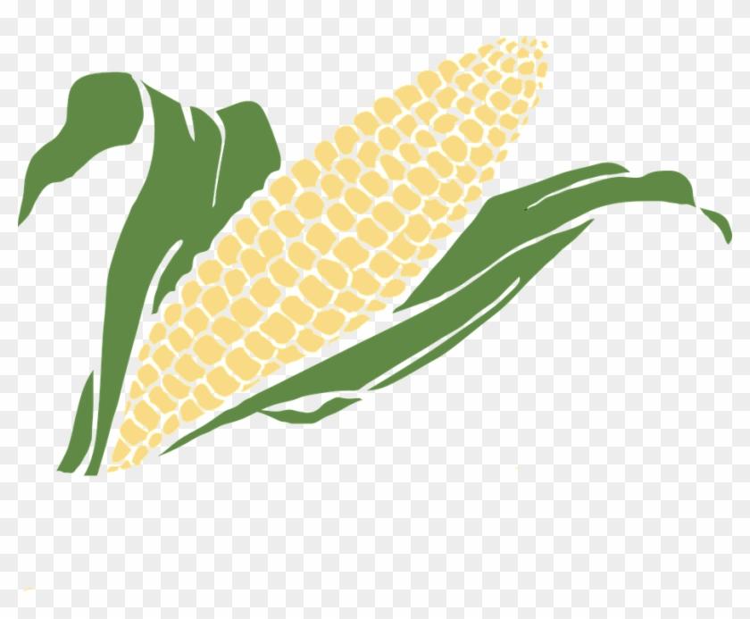 Vegetable Clipart Grain - Golden Corn Clip Art #25569