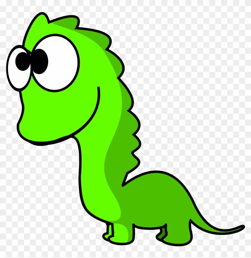 Png - Cartoon Dinosaur No Background #25584