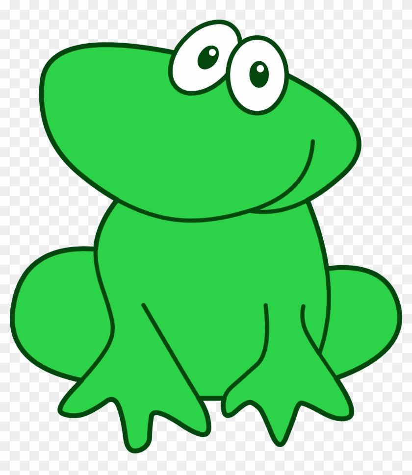 Cute Little Green Frog - Imagenes De Color Green #25617