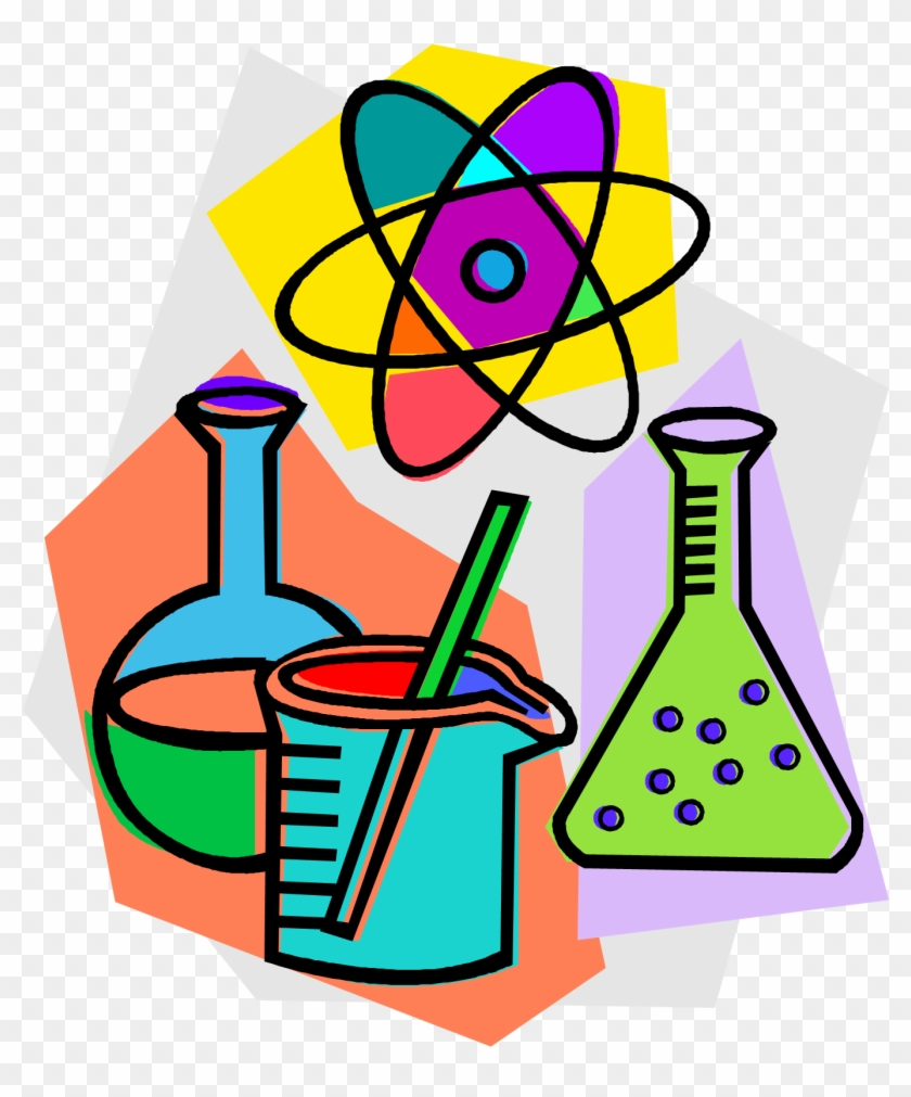 Chemistry Laboratory Chemical Reaction Clip Art - Science Clip Art #25609