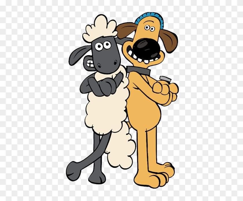 Sheep Clipart Shaun The Sheep - Shaun The Sheep Bitzer Cartoon #25634