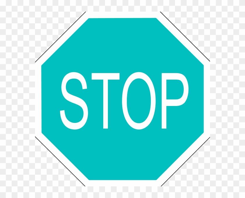 Stop Sign Clip Art - Medio De Comunicacion Señales #25644