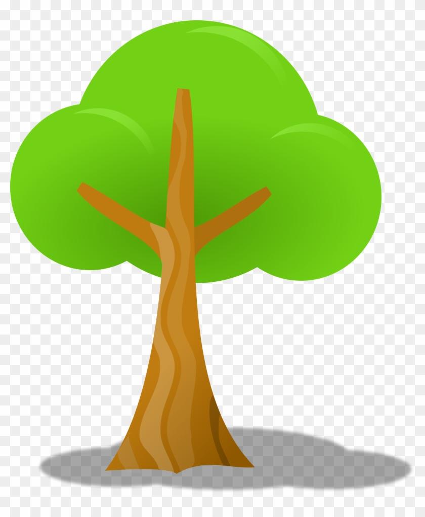 Nature Clipart Simple Tree - Tree Clip Art #25651