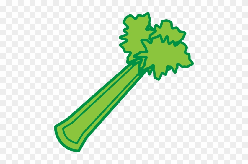 Vegetable Celeriac Carrot Clip Art - Celery Clipart #25655
