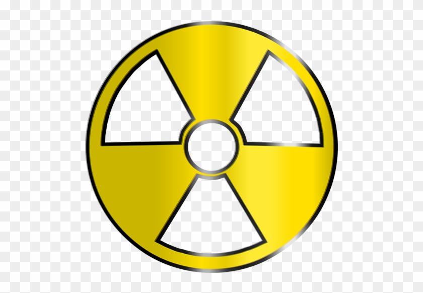 Medical Radioactive Symbol Clipart Image - Radioactive Symbol Clipart #25678