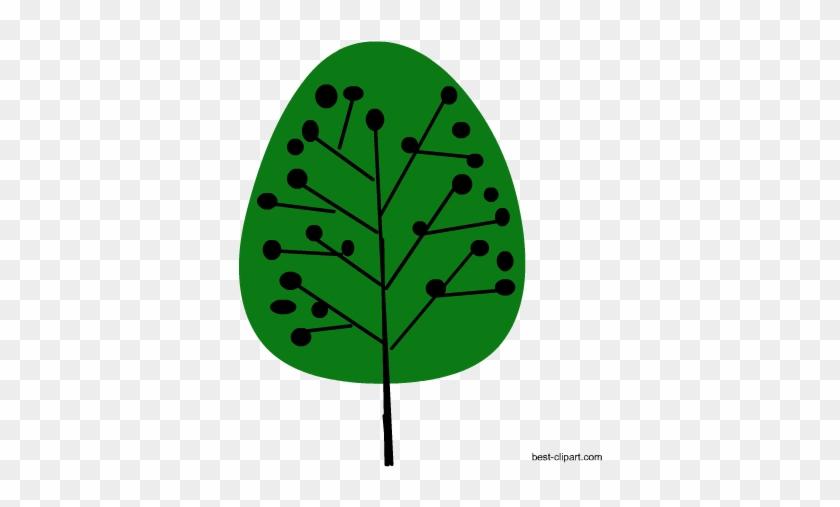 Cute Green Tree Free Clip Art - Clip Art #25690