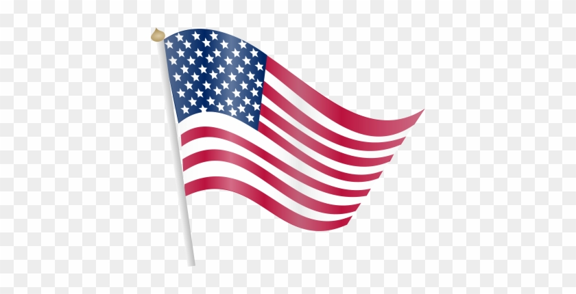 Flag Domain American Clip Art Png Images - American Flag Clipart Transparent #25704