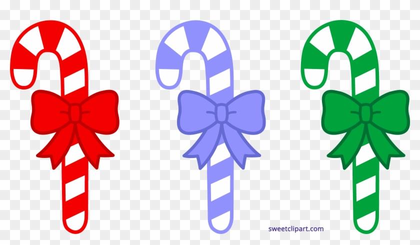 Sweet Clip Art - Christmas Candy Cane Clip Art #25799