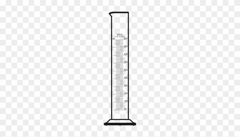 Graduated Cylinder Clipart - 10 Ml Graduated Cylinder Png #25793