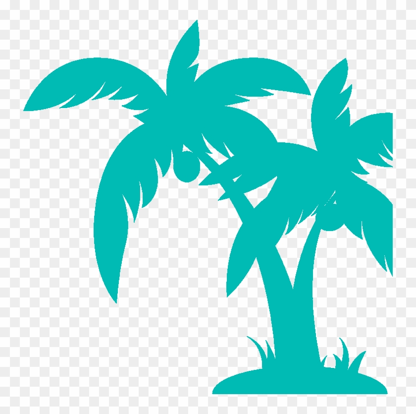 Palm Trees Clipart Black And White #25812