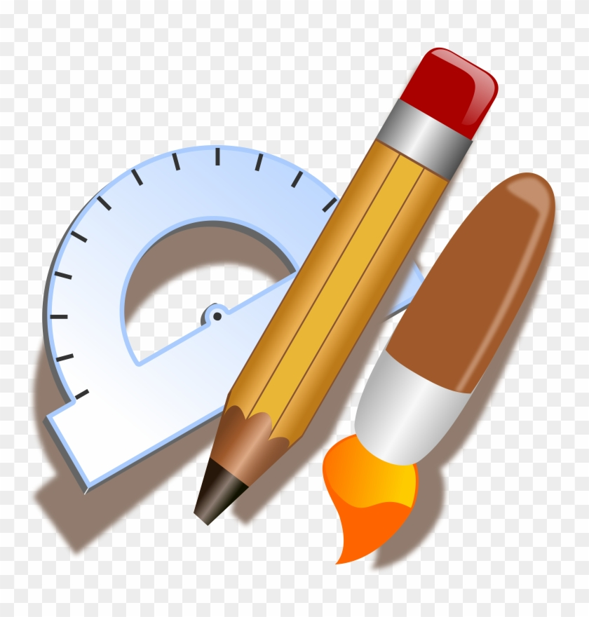 Architecture & Construction - Drawing Tools Clipart #25816