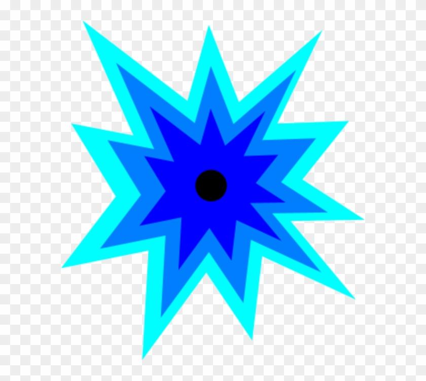 Chemical Explosion Clipart Clipartcow 2 Image - Blue Explosion Clip Art #25824
