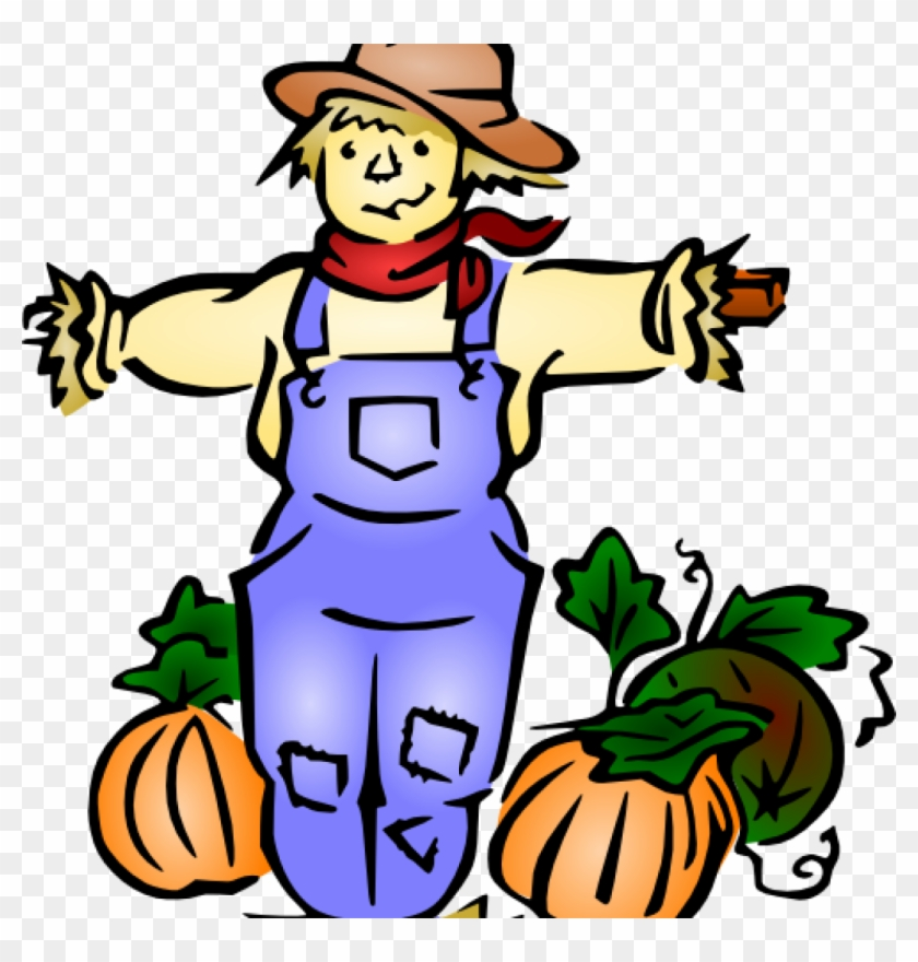 Scarecrow Clipart Scarecrow Clip Art At Clker Vector - Fall Harvest #25839