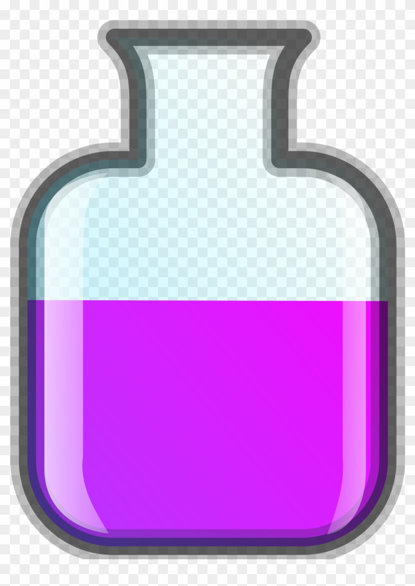 Erlenmeyerkolben Free Lab Icon 5 - Science Equipment Clip Art #25844