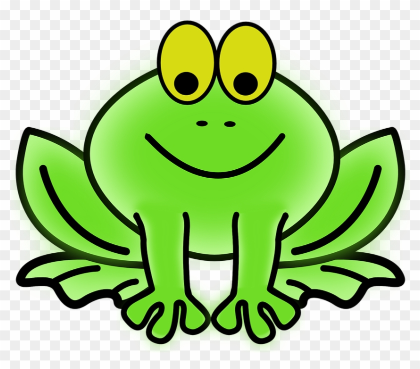 Frog Clip Art Border - Frog Free Clip Art #25853