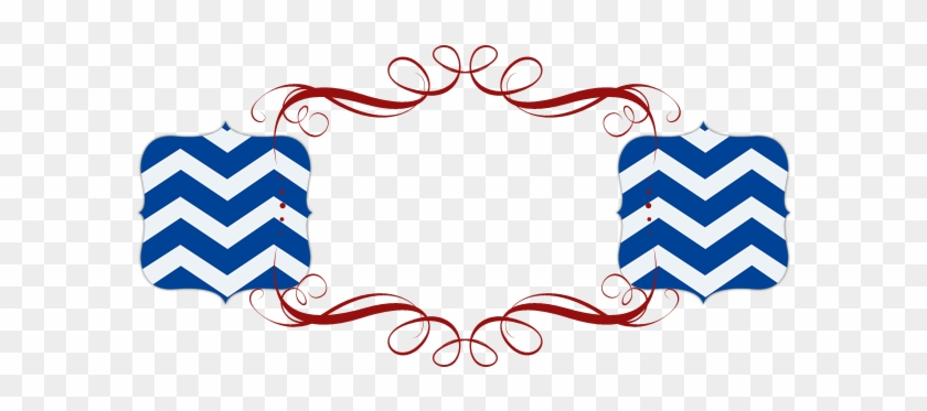 Chevron Patriotic Free Modern Vintage Chic 4th Of July - 4th Of July Banner Png #25866