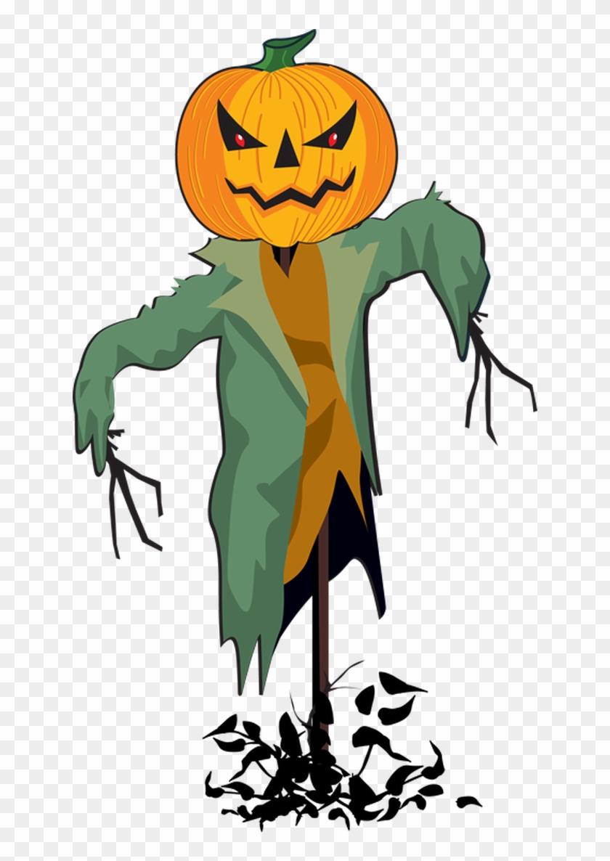 Scarecrow Clip Art Graphics Free Clipart Images Clipartcow - Halloween Scarecrow Clipart #25876