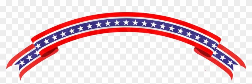 Patriotic Banner - Patriotic Banner Clipart #25877