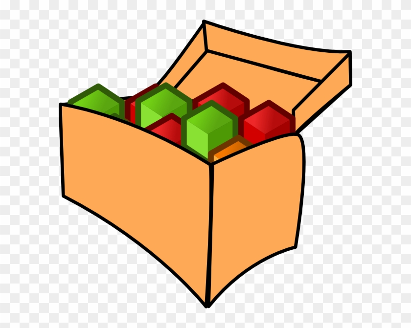 Tool Box With Cubes Clip Art - Cubes In A Box #25906