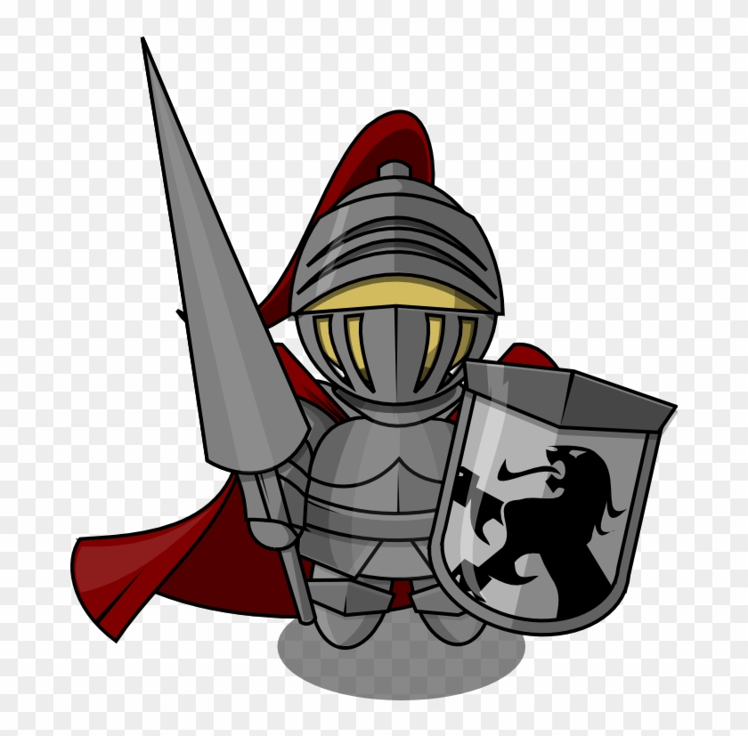 Knight Free To Use Clip Art - Knight Clipart Transparent #25911