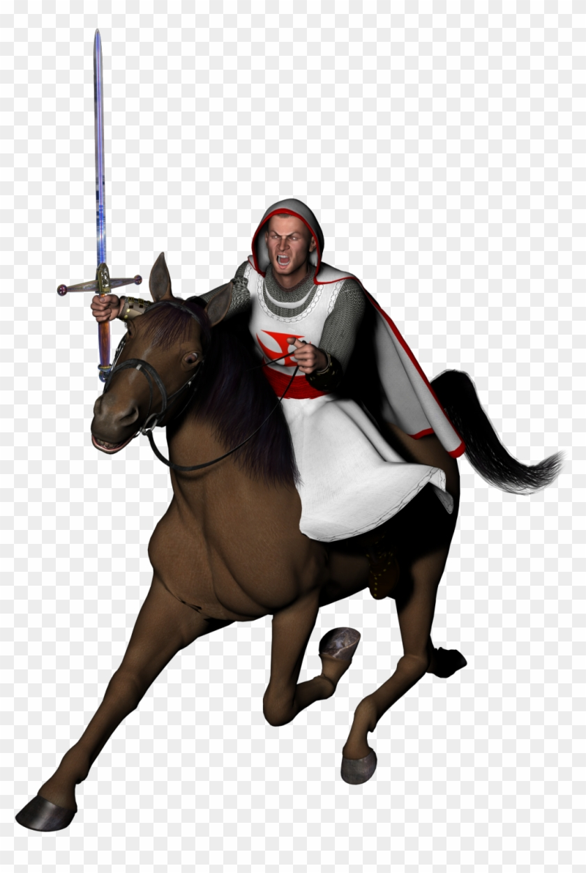 Knight On Horse Transparent Background #25926