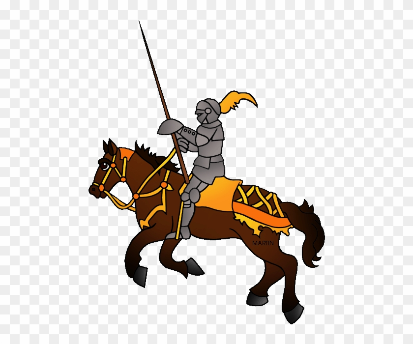 State Sport Of Maryland - Knights On Horse Clipart Png #25934